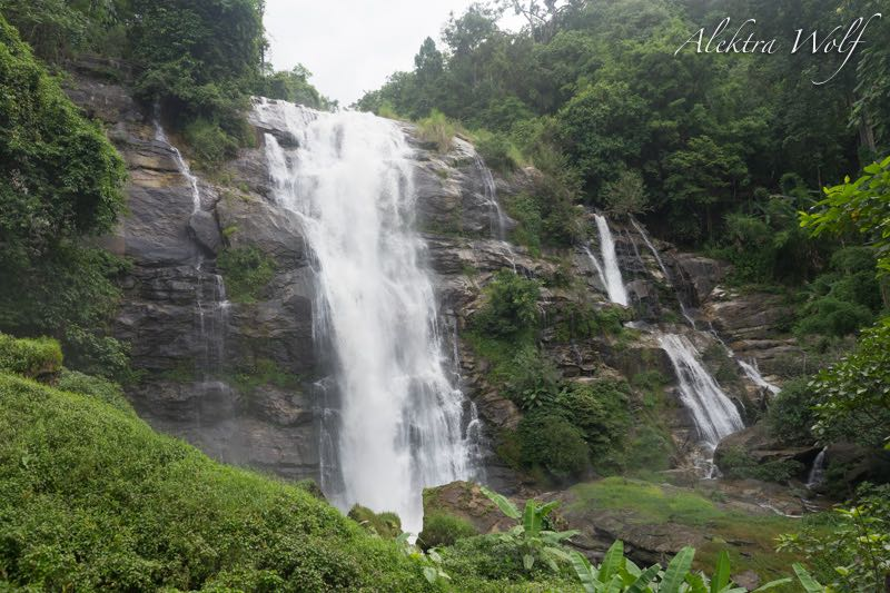 wachirathan waterfall doi inthanaon