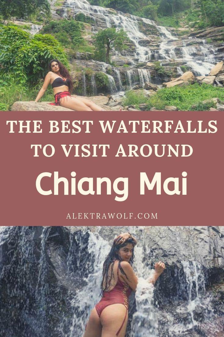 mae ya waterfall Chiang Mai