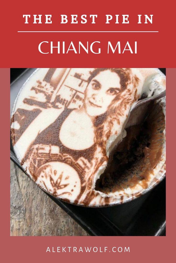 Charin pie Chiang Mai Thailand food
