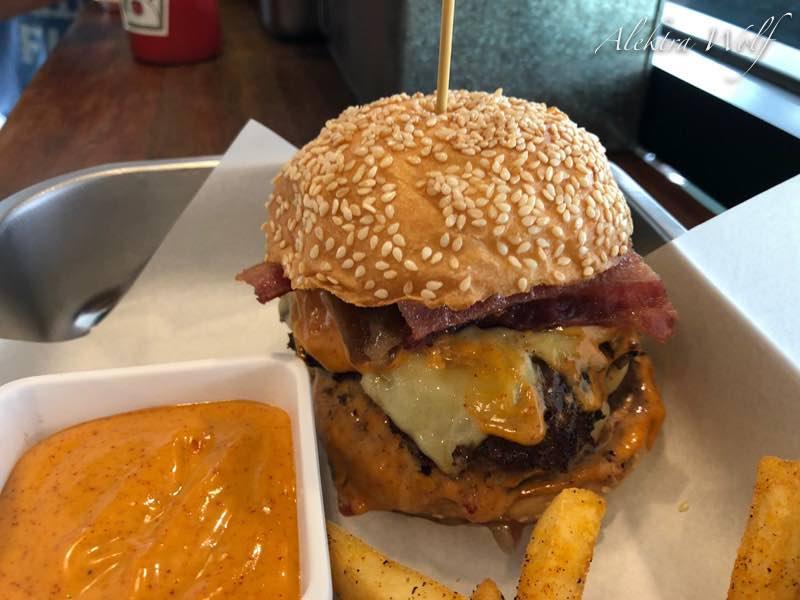 beast burger Chiang Mai