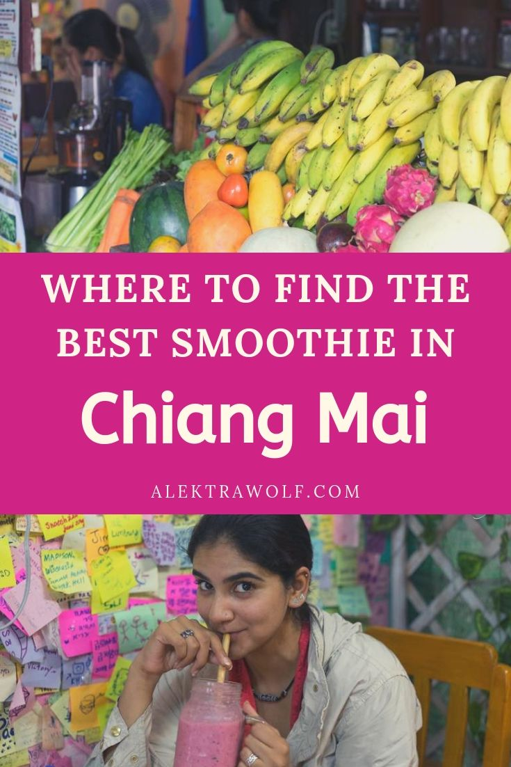 Chiang Mai smoothie