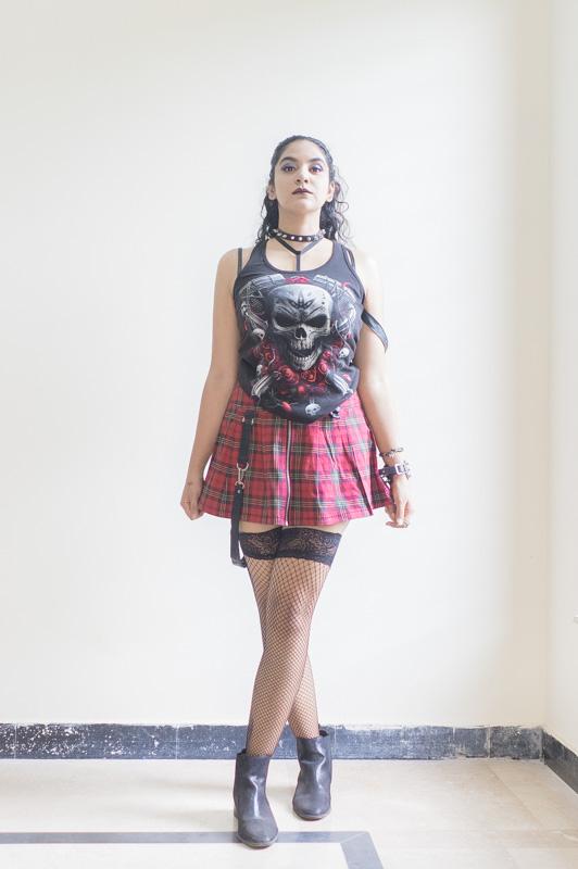 goth photoshoot
